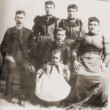 The Hubbell Family - Circa 1892