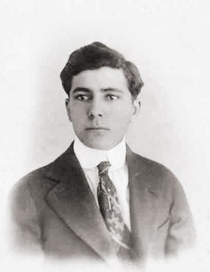 Lorenzo Sebastian Rubi - Winslow High School, 1917 First Hispanic Graduate at WHS